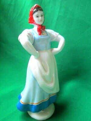 """A rare ancient Soviet figurine of the 50s """"Dancing Girl"""""""