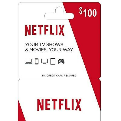Netflix Gift Card 100$ [Quick Delivery]