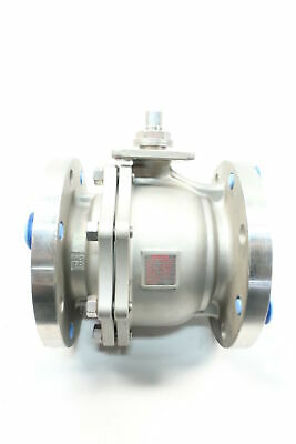Sharpe FS50116NF 150 Stainless Flanged 4in Ball Valve