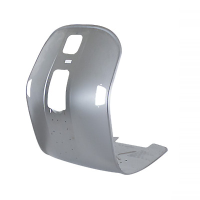 Leg shield trim alloy effect plain for Vespa PX