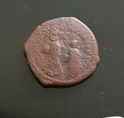 #e790# Byzantine Follis coin of Heraclius from 610-641 AD (Constantinople)