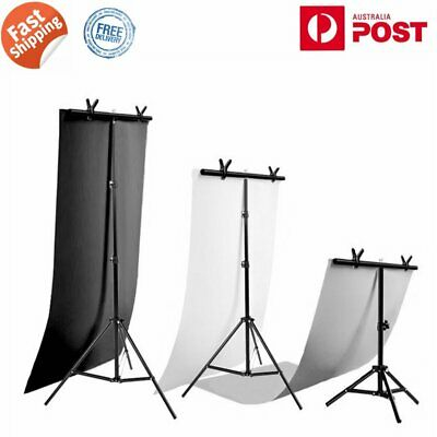 PVC Background Paper & T Backdrop Stand Studio Photography Support Kit AU STOCK