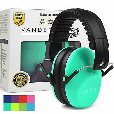 Kids Baby Ear Defenders Noise Reduction Children Ear Mufs Autism Turquoise Touch