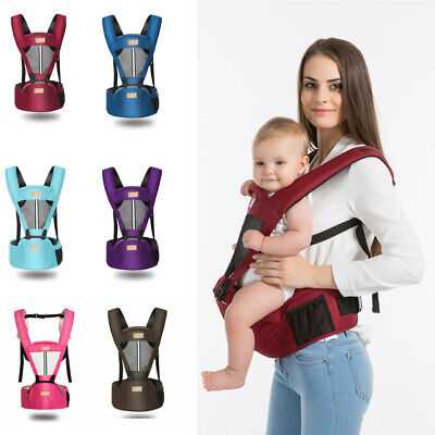 Baby Carrier With Hip Seat Removable Multifunctional Waist Support Stool Strap`