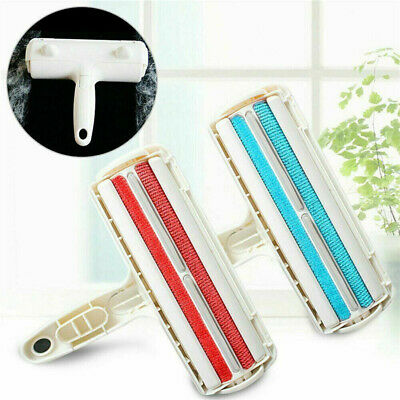 Pet Hair Remover Reusable Dog Cat Fur Roller Sofa Clothes Lint Cleaning Brush