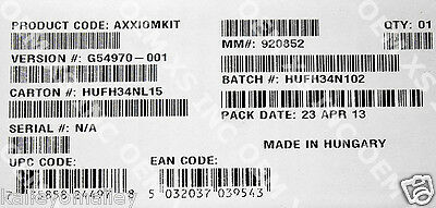 Intel AXXIOMKIT IO Module Cable Kit New Bulk Packaging
