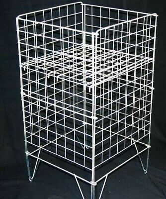"""16"""" Square Large Wire Dump Bin Basket. Used - immaculate condition"""