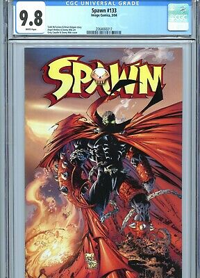 Spawn #133 CGC 9.8 White Pages Image Comics 2004