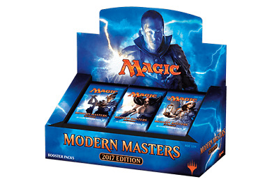 Magic Modern Masters 2017 Sealed Booster Box -- ENGLISH -- MM17 snapcaster fetch