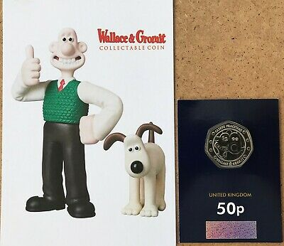 New Wallace and Gromit coin BUNC with special collectors card NOW IN STOCK