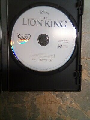 The Lion King Live Action 2019 Disney DVD Disc Only Like New
