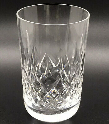 """Waterford Crystal Lismore Double Old Fashioned Round Bottom Glass 4 3/8"""""""