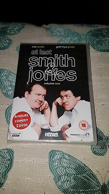 At Last Smith & Jones Volume One.dvd.new And Sealed.