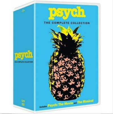 Psych: The Complete Collection [New DVD] Boxed Set Brand New