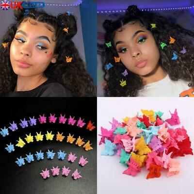 Cute Butterfly Hair Clips Mixed Color Mini Hairpins For Kids Baby