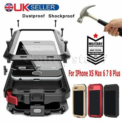 Shockproof Heavy Duty Tough Armour Case Cover For Iphone 11 Xs Max 6 7 8 Plus Uk
