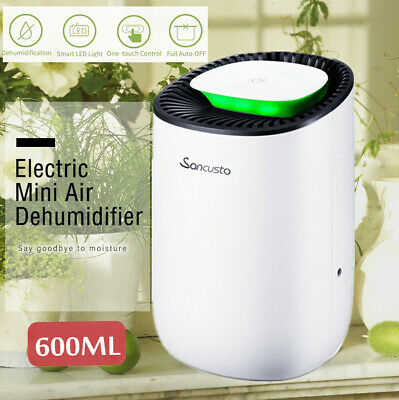 Air Dehumidifier Moisture Damp Dryer Home Kitchen Bedroom 600ml Mould Remover