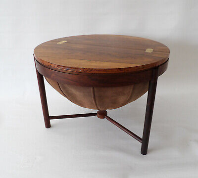 """Syklus"" rosewood side table by Adolf Relling & Rolf Rastad Rasmus Solberg 1962"