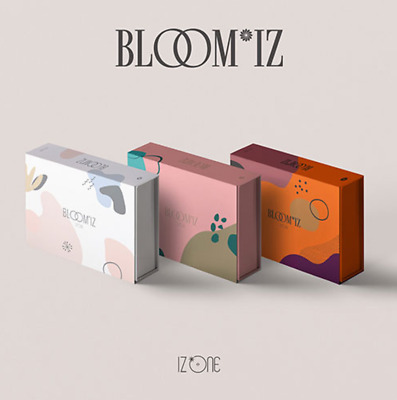 "K-POP IZ*ONE New 1st Album "" BLOOM*IZ "" - 1 Photobook + 1 CD /  I*WAS Ver"