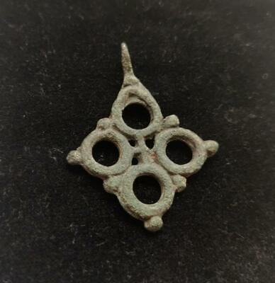 Authentic, Early medieval, Viking era, bronze cross
