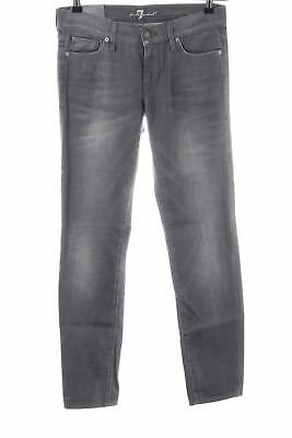 7 FOR ALL MANKIND Straight Leg Jeans hellgrau Casual Look