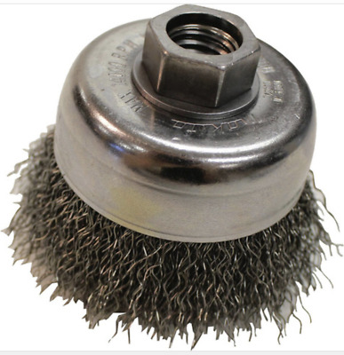 """NEW Makita 743205-6 3"""" Crimped Wire Cup Brush - Carbon Steel Wire"""