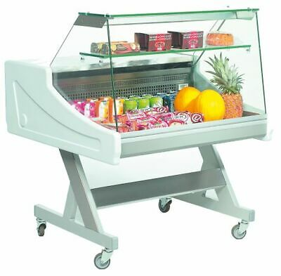 Refrigerated Display Sado 1000x990x1233 mm, with Lighting, 230 V, Counter