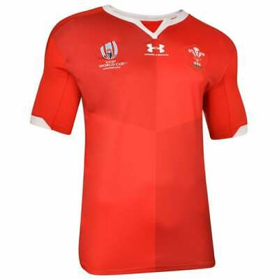Men's Rugby World Cup 2019 Shirt Suitable For Wales Home Shirt 2019/20 S-3XL