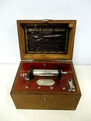 "Antique P.g. Williams ""Twentieth Century Battery"" Shock Therapy Quack Medicine"