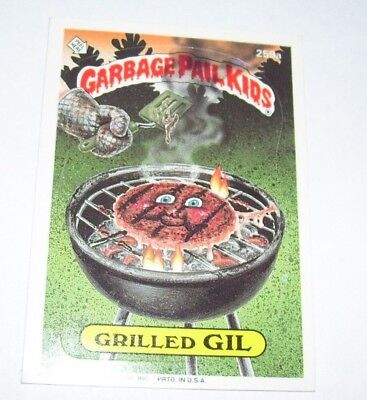 Garbage Pail Kids Grilled Gil 1987 Topps Trading Card 259a
