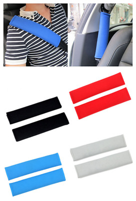 2pc Car Safety Strap Covers Shoulder Strap Cover Cushion Rucksack Bags