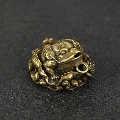 China Antique Collection Brass Jinchan Pendant Accessories a606