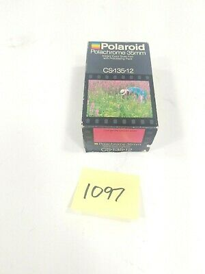 Polaroid Polachrome 35mm CS-135-12 Vintage Film Unopened Expired Jun 86