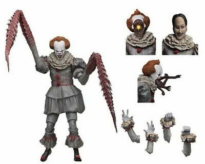 """Scale IT Ultimate Pennywise The Dancing Clown 2017 7"""" Action Figure 1:12 NECA"""