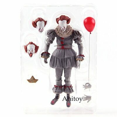 """IT Ultimate Pennywise The Dancing Clown (2017 Movie) 7"""" Action Figure Scale NECA"""