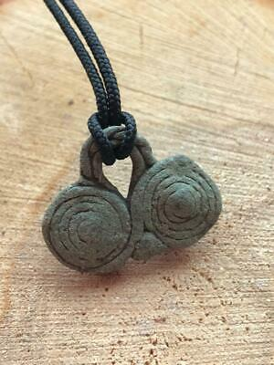Ancient Bronze Amulet Breast Viking / Scandinavian / Pendant