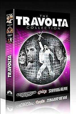 The Travolta Collection : Grease / Saturday Night Fever / Staying Alive (3 Disc