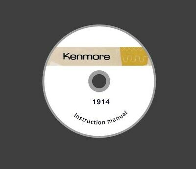 KENMORE 17860 158.1786081 or 17871 158.1787180 INSTRUCTION Manual on CD or DWNLD