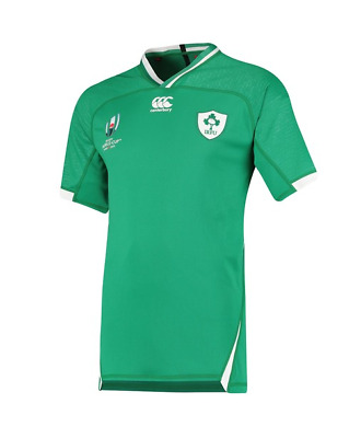 Mens Rugby World Cup 2019 Shirt Suitable For Ireland Home Shirt 2019/20 S-3XL