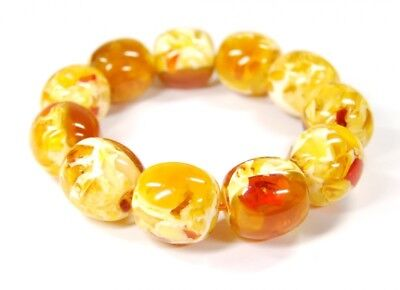 Nice Bracelet from Synthetic Amber