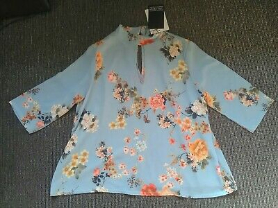 Bnwt Girls on Film Floral Blouse / Top Size 10