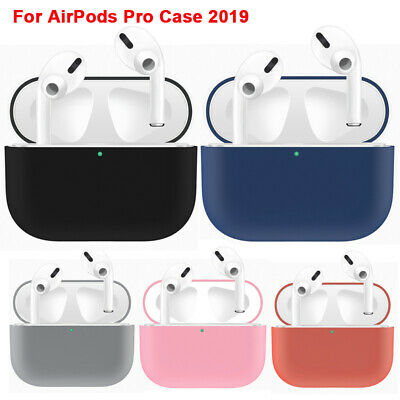 For Apple AirPods Pro Wireless Charging Case Silicone Protective Cover Colour UK