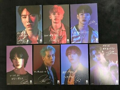 MONSTA X FOLLOW - FIND YOU official post card Tower Record member Chooseable