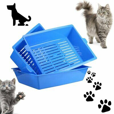 Cat Bedpans Semi Closed Anti-splash Cat Toilet Cat Litter Box Pet Supplies DH