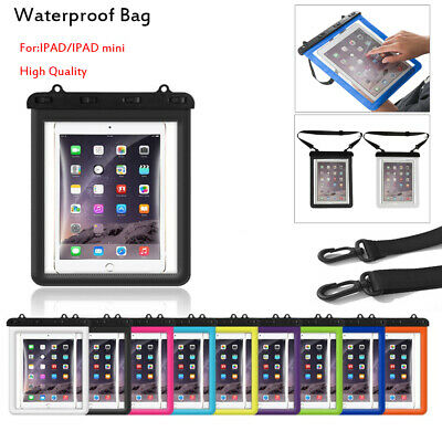 Shockproof Storage Waterproof Cover Swimming Underwater Pouch Diving IPad Case