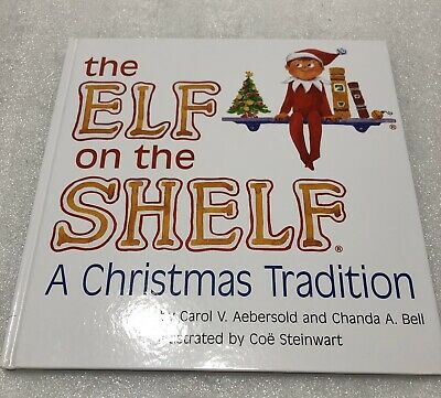 Genuine The Elf On The Shelf A Christmas Tradition Children's Book - Book Only
