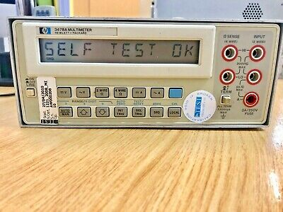 HP Agilent Keysight 3478a True RMS 5 1/2 Digital Multimeter HP IB GPIB