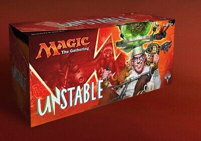 Magic Unstable Factory Sealed Booster Box 2017 UNT UNS