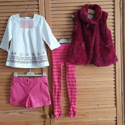 Beautiful outfit, 4-5y, brand new bodywarmer