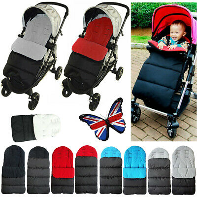 Universal Baby Toddler Footmuff Stroller Buggy Cosy Warm Toes Liner Pushchair UK